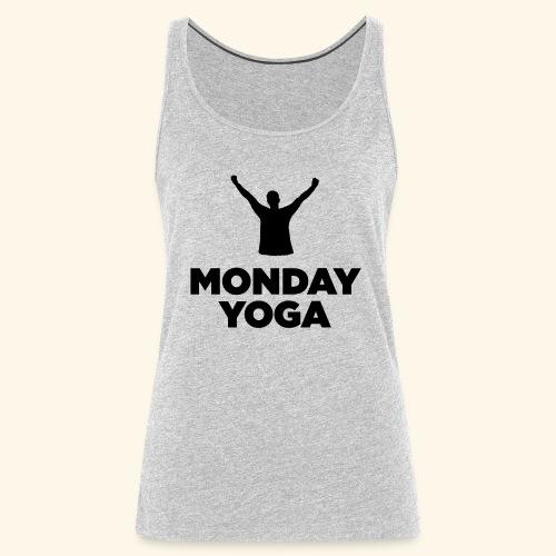 monday yoga - Women's Premium Tank Top