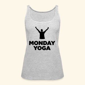 monday yoga - Women's Premium Tank Top