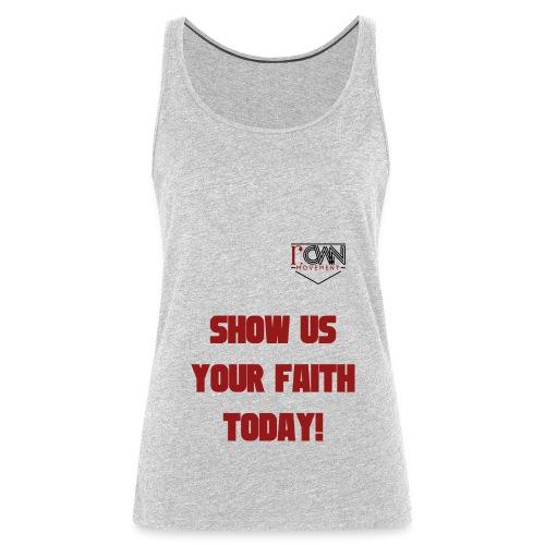 rOWN LOGO T SHIRT - Women's Premium Tank Top