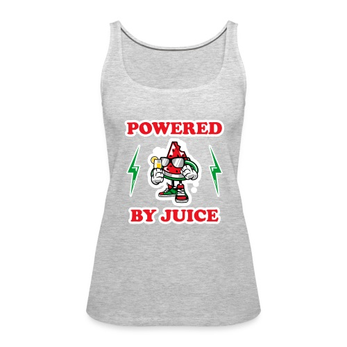 Powered by Juice Vegan design - Women's Premium Tank Top