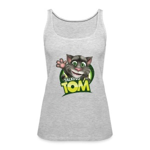 Talking_TOM_wave_preview_lowRes - Women's Premium Tank Top