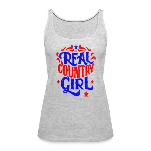 Real Country Girls - Women's Premium Tank Top