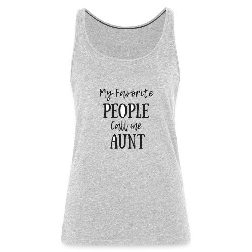 Aunt - Women's Premium Tank Top