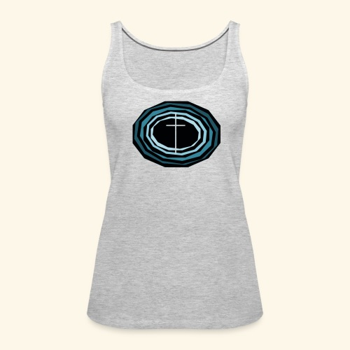 Cross Wheel - Women's Premium Tank Top