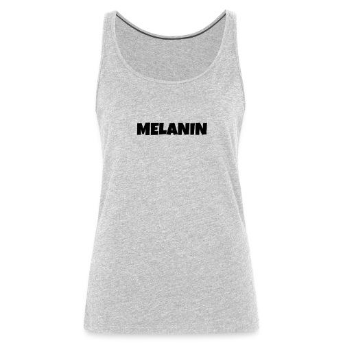 Melanin #PandaDESIGNS - Women's Premium Tank Top