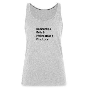 Rach FAVE shirt A - Women's Premium Tank Top
