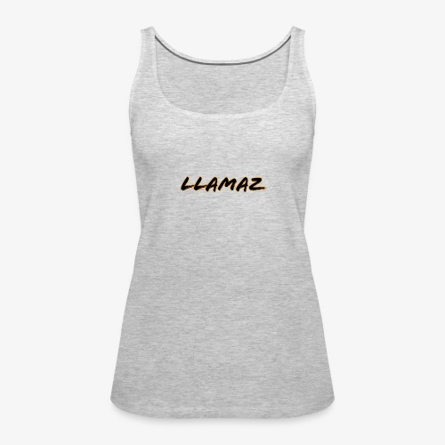 Llamaz YT Channel Merch - Women's Premium Tank Top