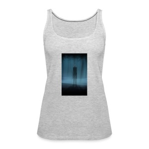 Creepy Forest Person - Women's Premium Tank Top