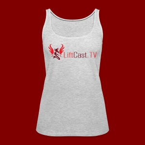 Horizontal for Light Clothing - Women's Premium Tank Top