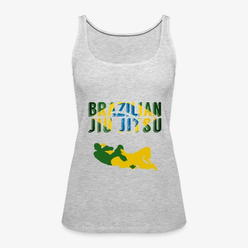 Brazilian Jiu Jitsu - Women's Premium Tank Top