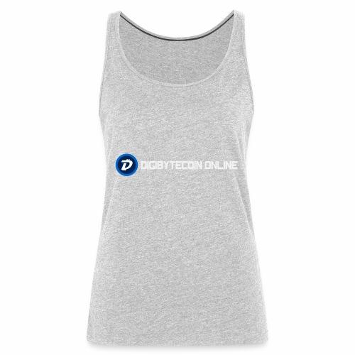 Digibyte online light - Women's Premium Tank Top