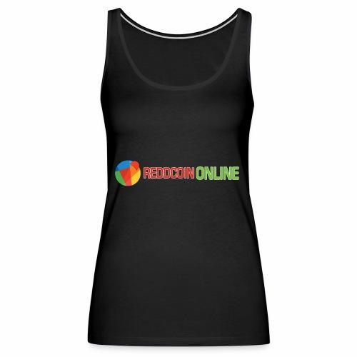 Reddcoin online logo red and green - Women's Premium Tank Top