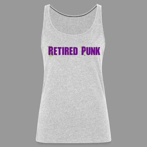 Retired Punk 001 - Women's Premium Tank Top