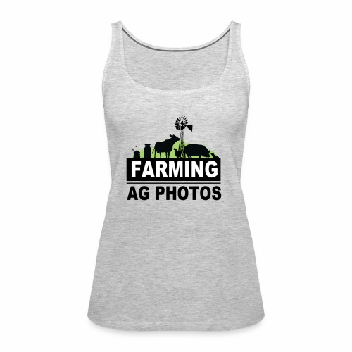 Farming Ag Photos - Women's Premium Tank Top