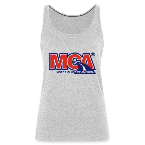 MCA_Logo_WBG_Transparent - Women's Premium Tank Top