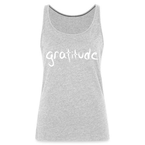 gratitude - Women's Premium Tank Top