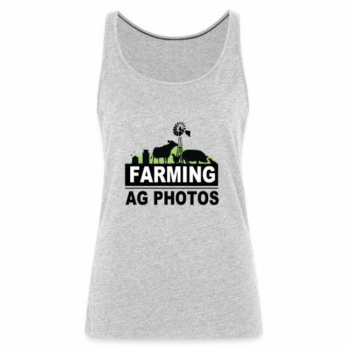 Farming Ag Photos - Women's Premium Tank Top