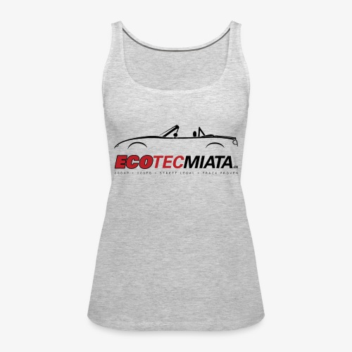 Ecotec Miata Logo - Women's Premium Tank Top