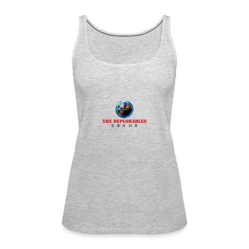 The Deplorables - Women's Premium Tank Top