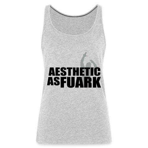 Zyzz Aesthetic as FUARK - Women's Premium Tank Top