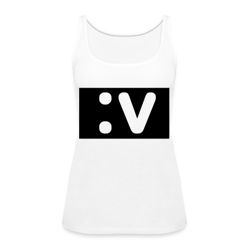 LBV side face Merch - Women's Premium Tank Top