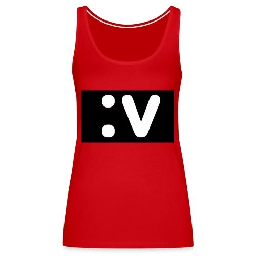 LBV side face Merch - Women's Premium Tank Top