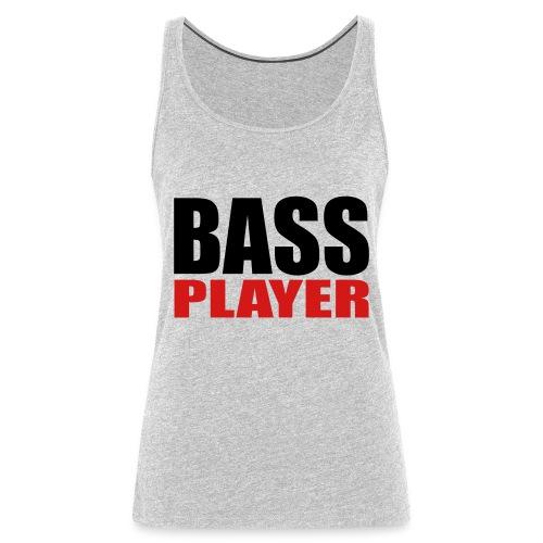 Bass Player - Women's Premium Tank Top