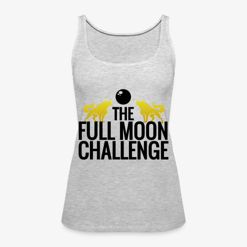 Full Moon Challenge Colour - Women's Premium Tank Top