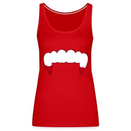 Vampire Fangs - Women's Premium Tank Top