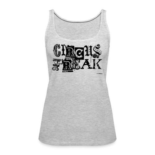 Circus Freak Outlines - Women's Premium Tank Top