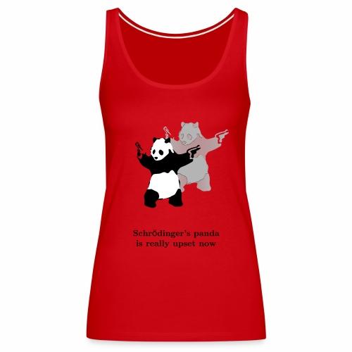 Schrödinger's panda is really upset now - Women's Premium Tank Top