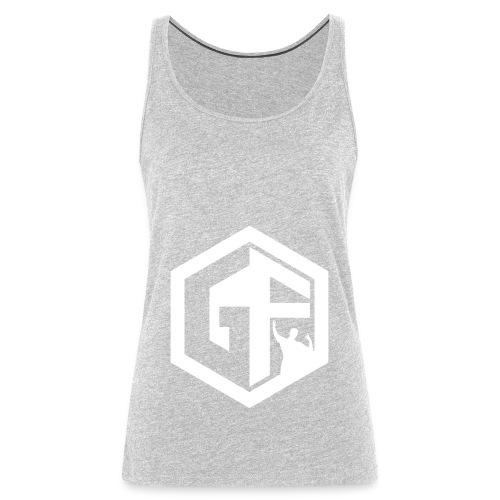 GF Logo Whitek - Women's Premium Tank Top