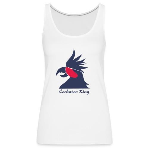 Cockatoo Logo - Women's Premium Tank Top