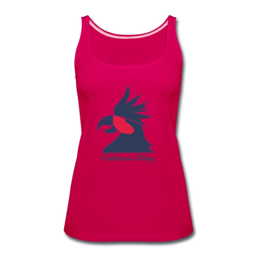 Cockatoo Logo - Women's Premium Tank Top