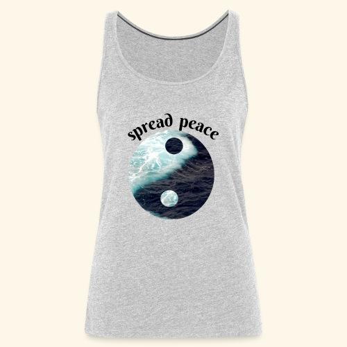spread peace - Women's Premium Tank Top
