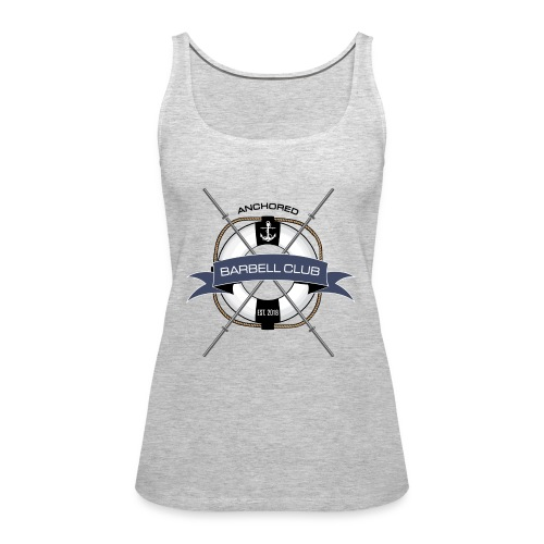 Anchored Barbell Club Colored - Women's Premium Tank Top