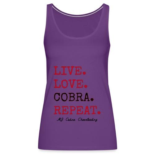 Live Love Cobra - Women's Premium Tank Top