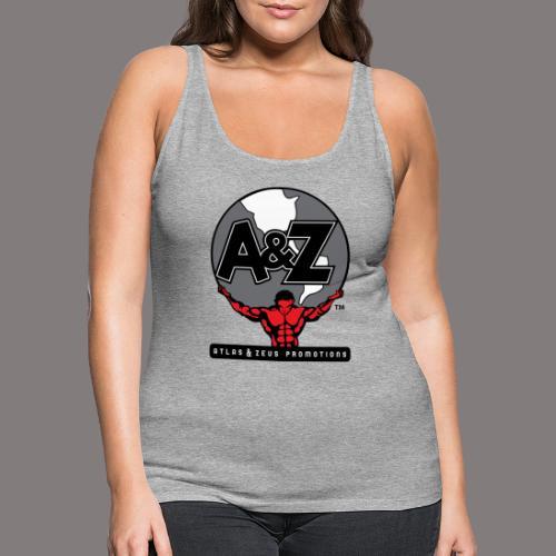 A Z Logo Randy Santel - Women's Premium Tank Top