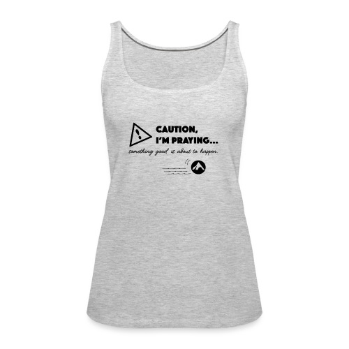 Something Good is About to Happen - Women's Premium Tank Top