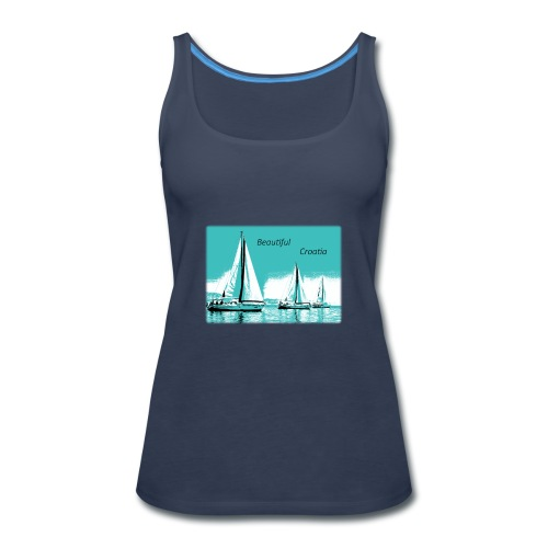 Beautiful Croatia - Women's Premium Tank Top