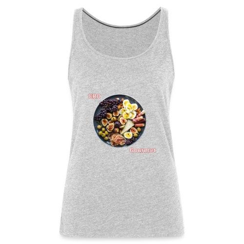 Croatian Gourmet - Women's Premium Tank Top