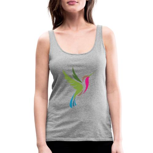 Hummingbird Spot Logo Products - Women's Premium Tank Top