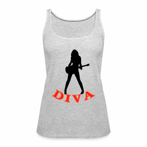 Rock Star Diva - Women's Premium Tank Top