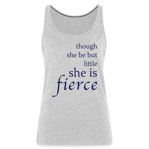 She Is Fierce - Women's Premium Tank Top
