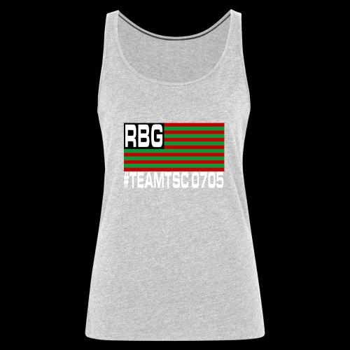 TeamTSC RBGFlag 2 - Women's Premium Tank Top