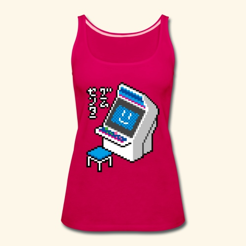 Pixelcandy_BC - Women's Premium Tank Top