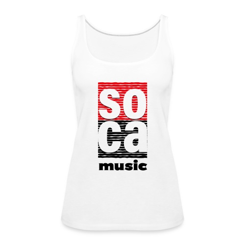 Soca music - Women's Premium Tank Top