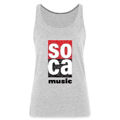 Soca music - Women's Premium Tank Top