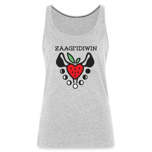 Zaagi idiwin Logo - Women's Premium Tank Top