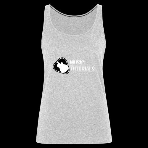 Music Tutorials Logo - Women's Premium Tank Top